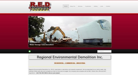 Regional Enviro Demo Responsive Website Design